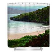Ballymastocker Bay Shower Curtain