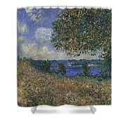 Banks Of The Seine Shower Curtain