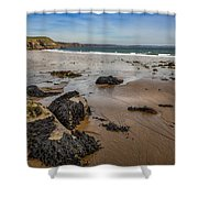 Barafundle Bay Shower Curtain