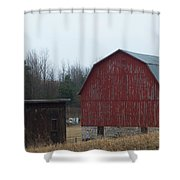 Barn And Shed Shower Curtain
