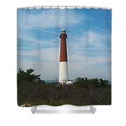 Barnegat Lighthouse - New Jersey Shower Curtain