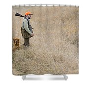 Barnes11 Shower Curtain