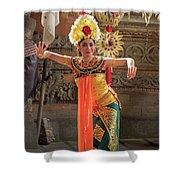 Barong Dancer Shower Curtain
