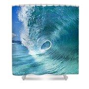 Barrel Swirl  -  Triptych  Part 2 Of 3 Shower Curtain