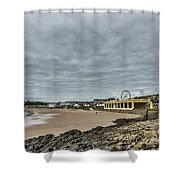 Barry Island Shower Curtain
