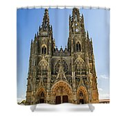 Basilique Notre - Dame De L'epine Shower Curtain