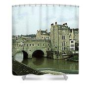 Bath, England Shower Curtain