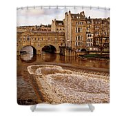 Bath England United Kingdom Uk Shower Curtain