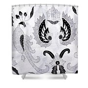 Batik  Shower Curtain