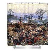 Battle Of Fredericksburg - To License For Professional Use Visit Granger.com Shower Curtain