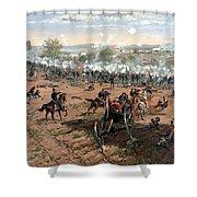 Battle Of Gettysburg Shower Curtain