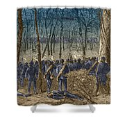 Battle Of The Wilderness, 1864 Shower Curtain