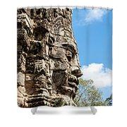 Bayon Temple, Anghor Shower Curtain