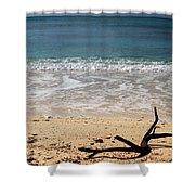 Beach At Grand Turk Shower Curtain