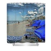 Beach Holiday Shower Curtain