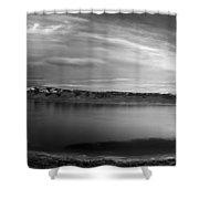 Bear Lake Panoramic Shower Curtain