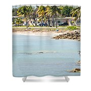 Beautiful Beach And Ocean Scenes In Florida Keys Shower Curtain