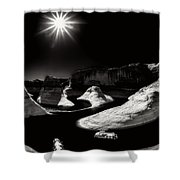 Beautiful Lake Powell Shower Curtain