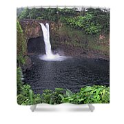Beautiful Rainbow Falls 2 Shower Curtain