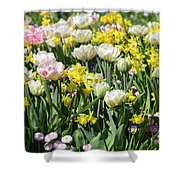 Beautiful Spring Flowers Shower Curtain