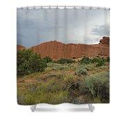 Utah Scenery Shower Curtain