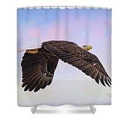 Beauty In Flight Shower Curtain