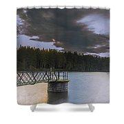 Beecraigs Loch Shower Curtain