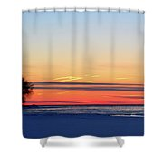 Before Sunrise Two  Shower Curtain