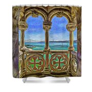 Belem Arches  Shower Curtain