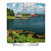 Bell Island Shower Curtain