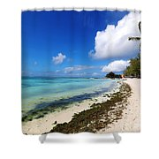 Belle Mare Shower Curtain