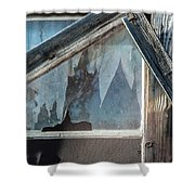 Belmont Window And Screen 1627 Shower Curtain