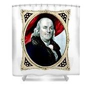 Ben Franklin - Two Shower Curtain