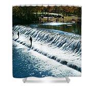 Bennett Springs Spillway Shower Curtain