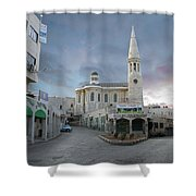 Bethlehem - Al Madbasa Street Shower Curtain