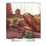 Between The Buttes Shower Curtain