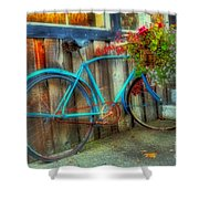 Bicycle Art 1 Shower Curtain