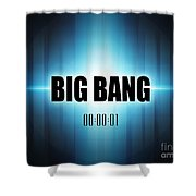 Big Bang Shower Curtain