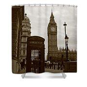 Big Ben Shower Curtain