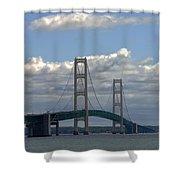Big Bridge Shower Curtain