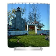 Big Sodus Lighthouse Shower Curtain