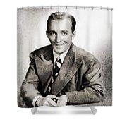 Bing Crosby, Hollywood Legend By John Springfield Shower Curtain