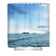 Binh Hai Beach, Quang Ngai Shower Curtain