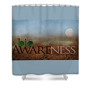 bioAWARENESS II Shower Curtain
