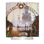 Bioshock Infinite Shower Curtain