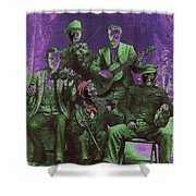 Bird Cage Theater Musicians Number 2 Tombstone Arizona Circa 1890-2009 Shower Curtain
