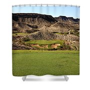 Black Jack's Crossing Golf Course Hole 13 Shower Curtain