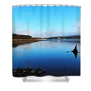 Blessington Lakes Shower Curtain