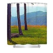 Blue Ridge Mountains - Virginia 2 Shower Curtain