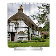 Bluebell Cottage Micheldever Shower Curtain